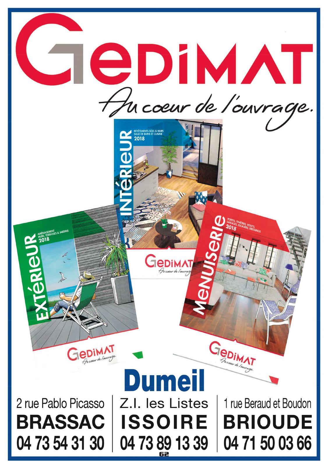 logo GEDIMAT - Dumeil