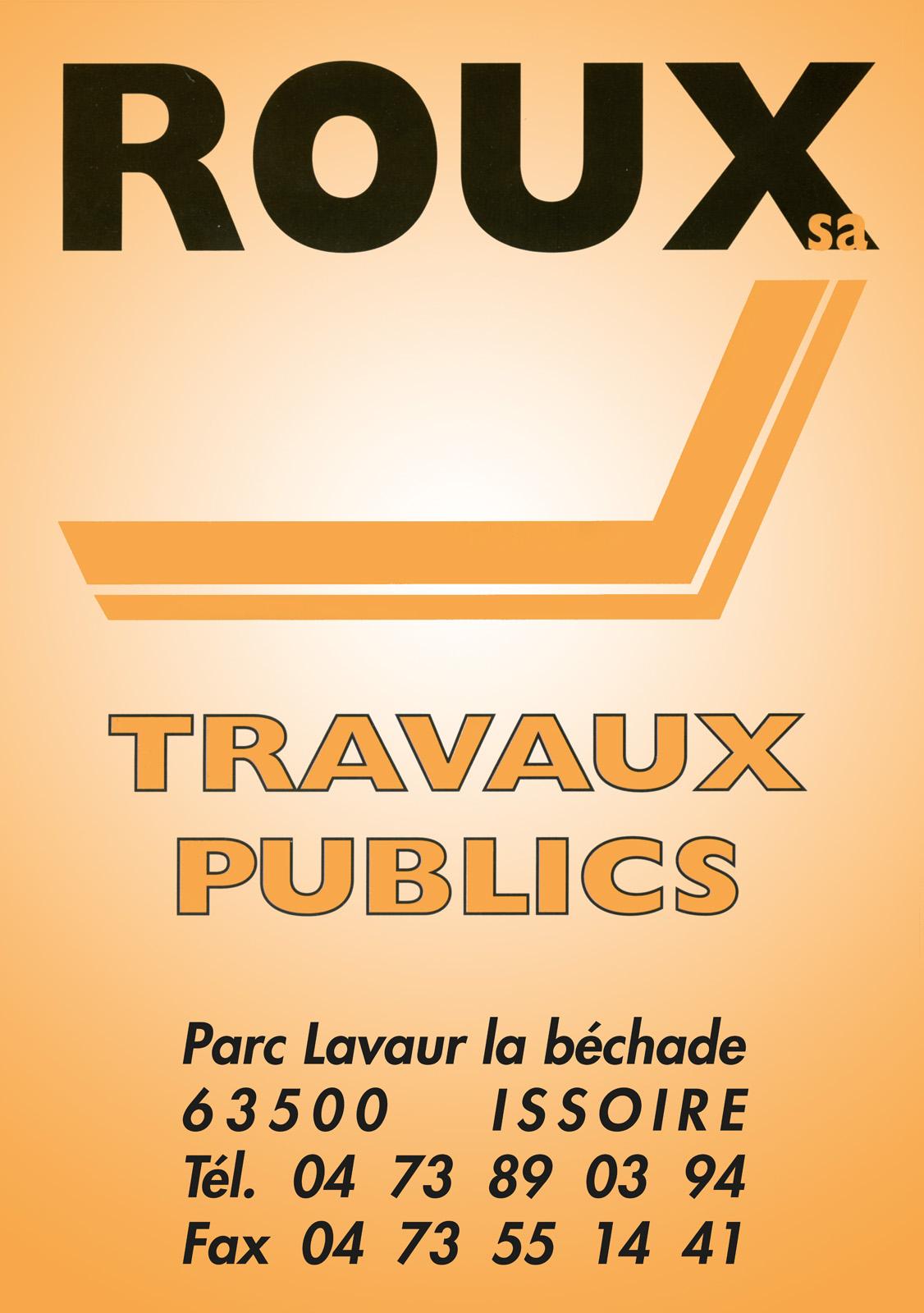 logo Roux Travaux Publics