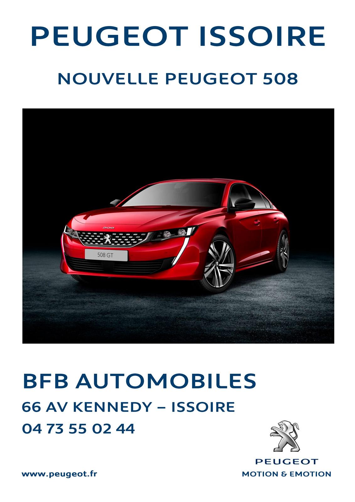 logo BFB Automobiles - Concessionnaire Peugeot