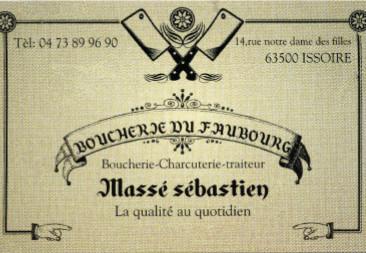logo Boucherie du Faubourg