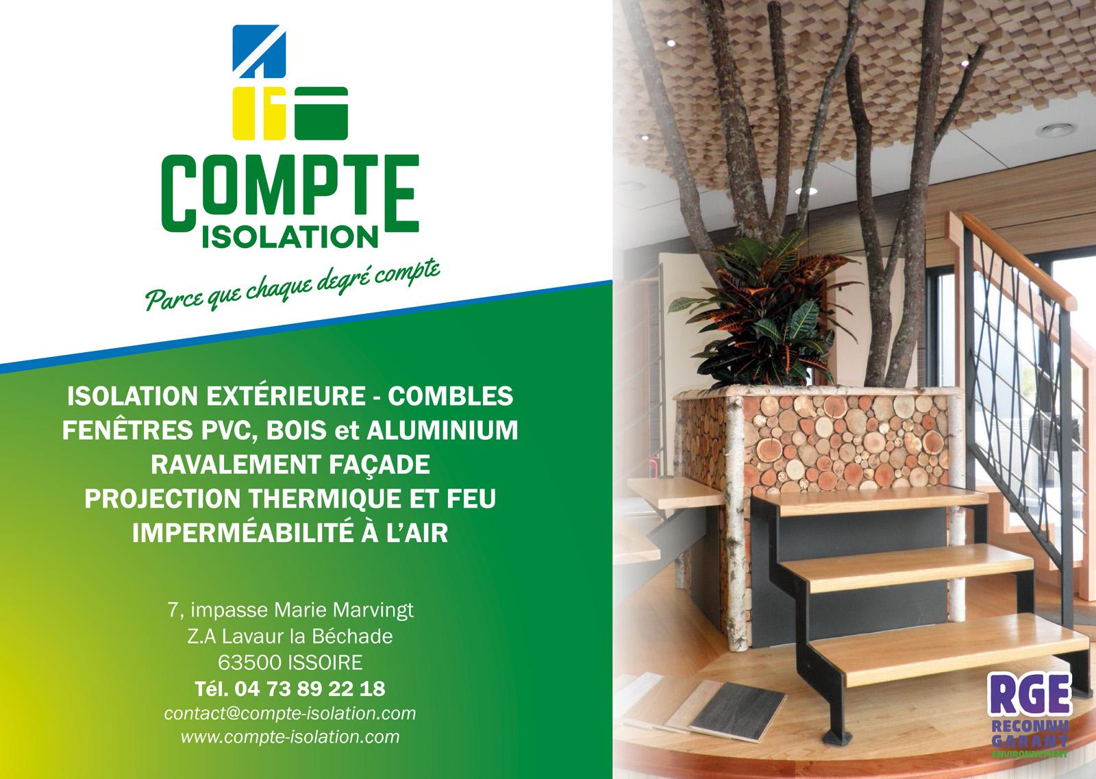 logo Compte - Isolation et Menuiserie