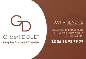logo Gilbert Douet Antiquités Brocante