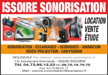 logo Issoire Sonorisation