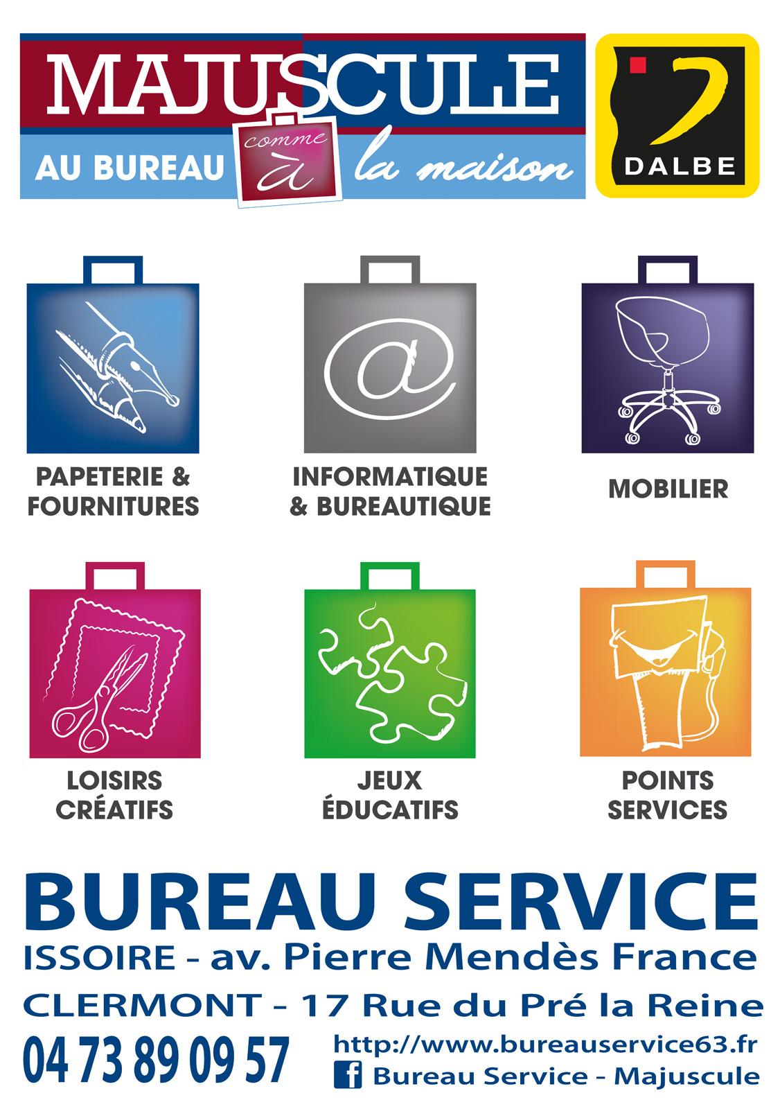 logo Majuscule - Bureau Service