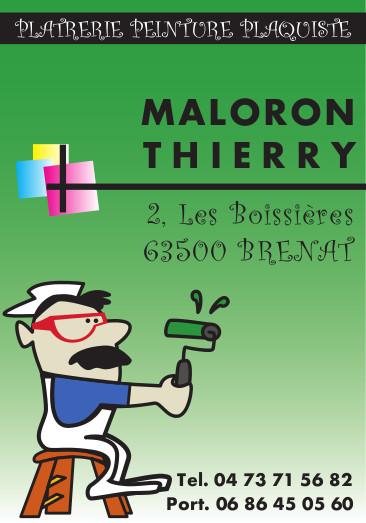logo Maloron Thierry