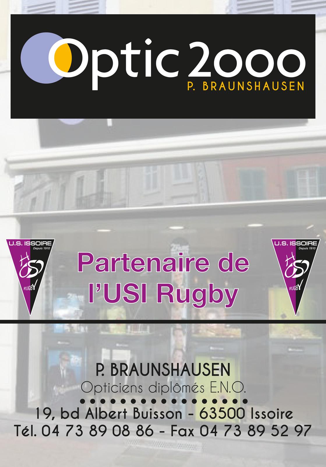 logo Optic 2000 - P. Braunshausen