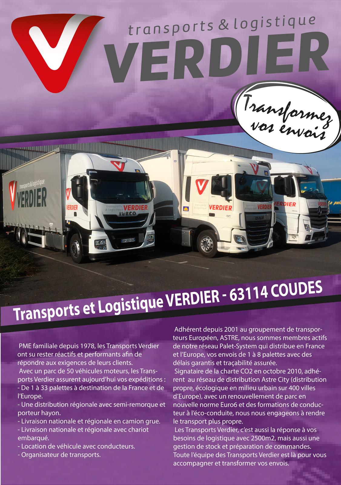 logo SLV - STV (Logistique et Transports Verdier)