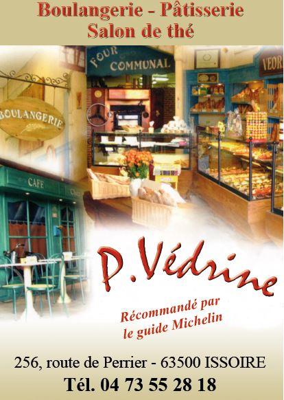 logo Boulangerie Patisserie P. Vedrine