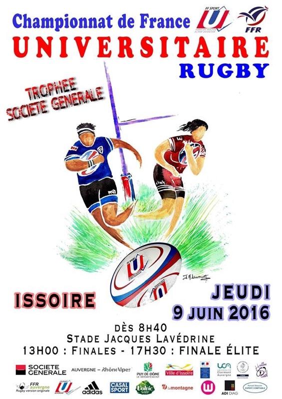 Affiche Finale U 20160609