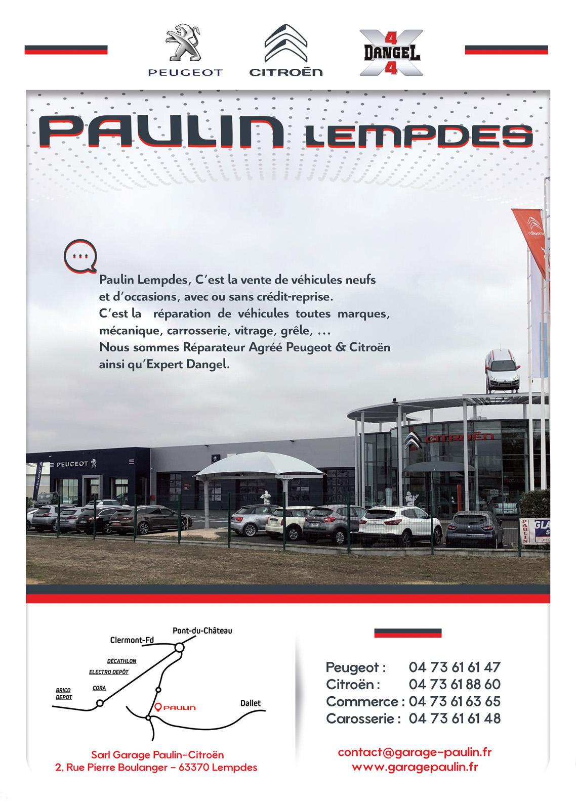 logo Citroen Lempdes - Paulin