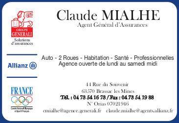 logo Assurances Claude Mialhe - Générali