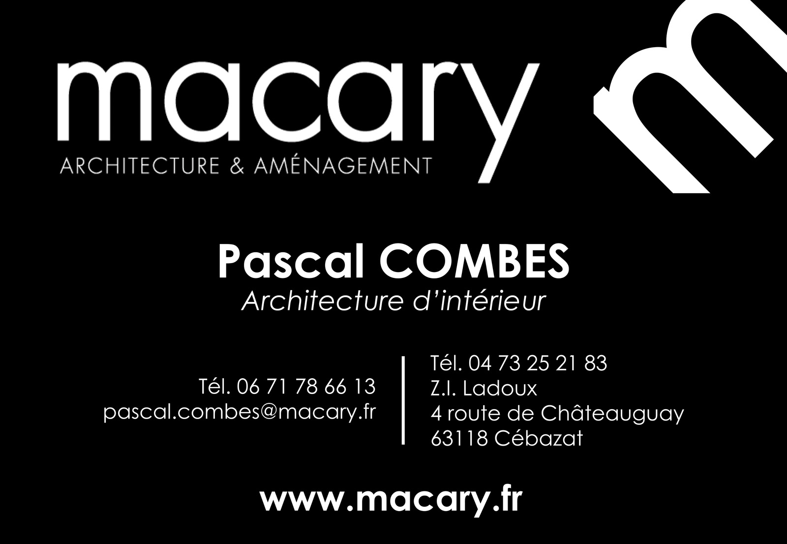 logo Macary Architecture