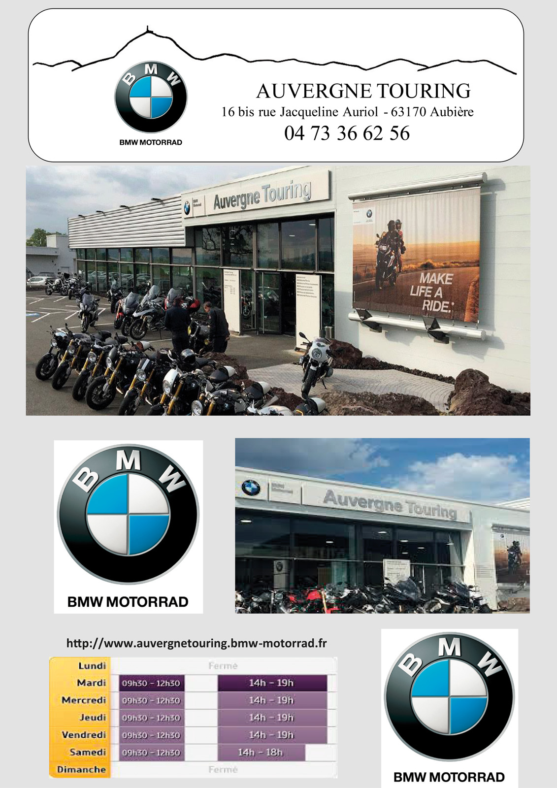logo Auvergne Touring - BMW Motos