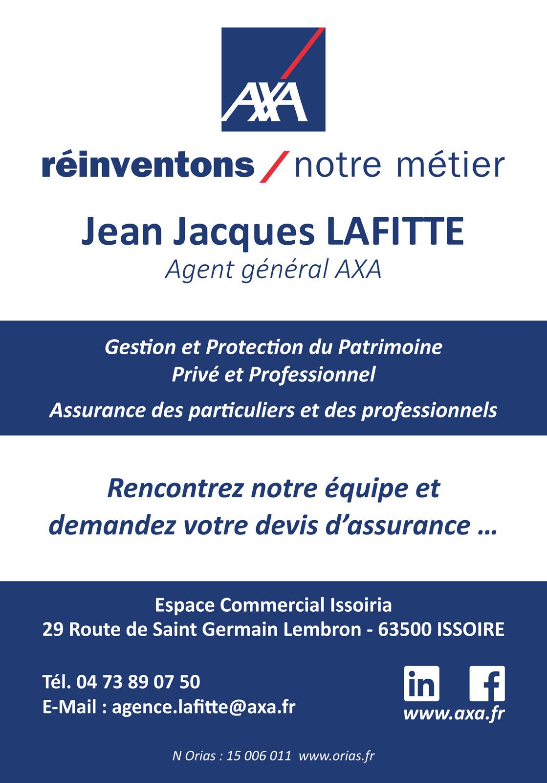 logo Axa Assurances Lafitte