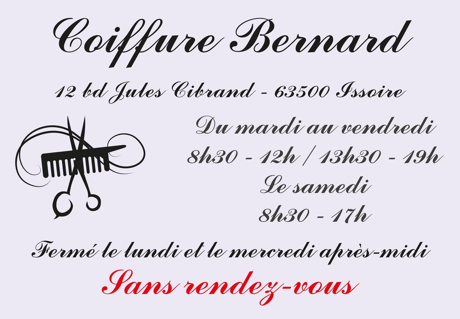 logo Coiffure Bernard