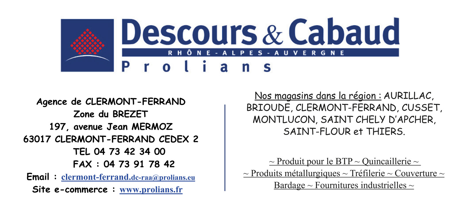 logo Descours et Cabaud