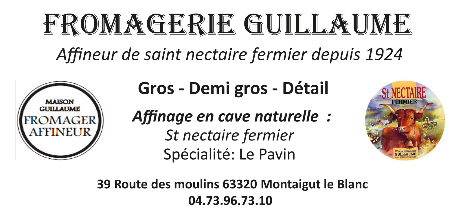 logo Fromagerie Guillaume