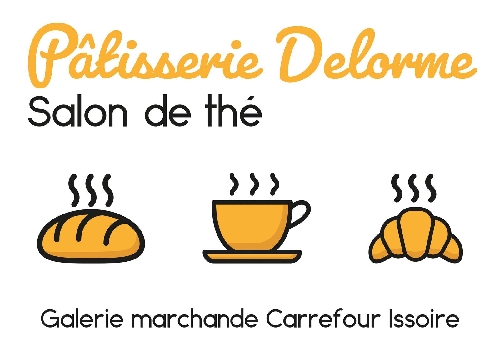 logo Patisserie Delorme