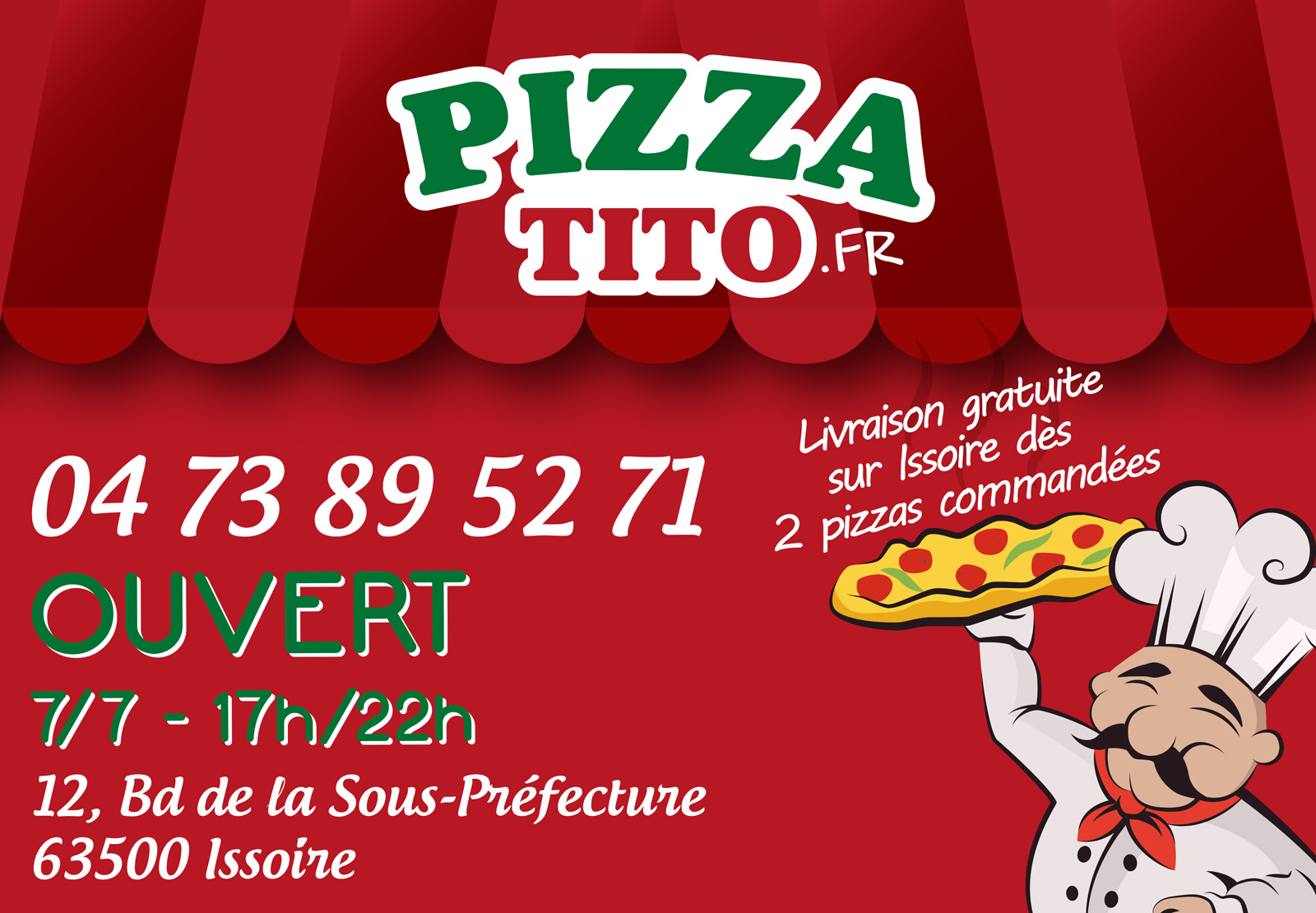 logo Pizza Tito