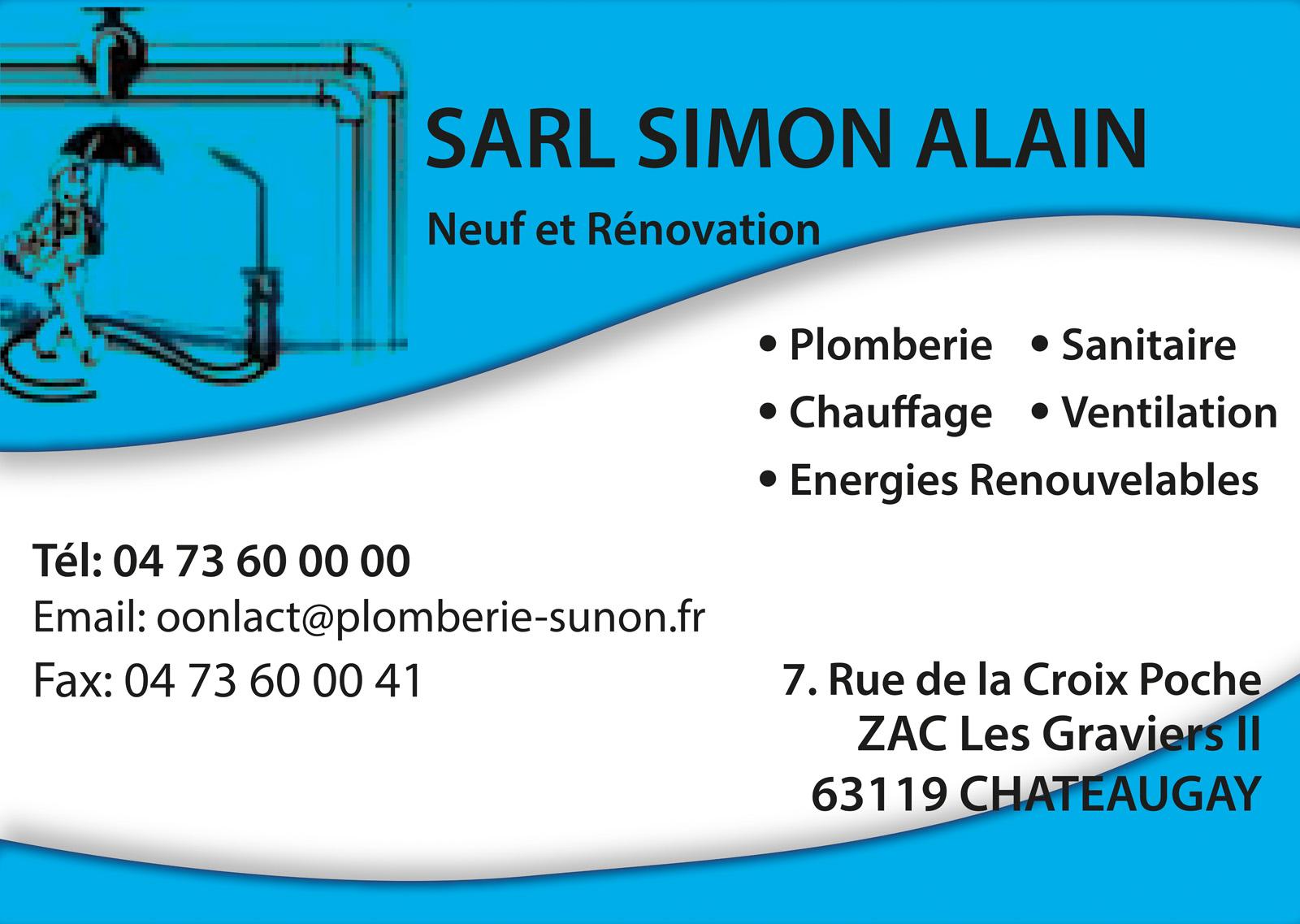 logo Sarl Simon Alain